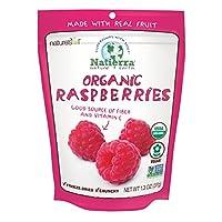 NATIERRA Nature's All Foods Organic 冷冻干燥覆盆子 | Non-GMO ,素食主义 | 1.3盎司,37克