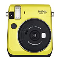 Mini 70 父母颜色和风格Instax® Mini 70 - Yellow 底部 中 黄色