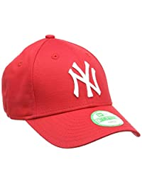 New Era 男童 MLB Basic NY Yankees 9Forty 可调节棒球帽