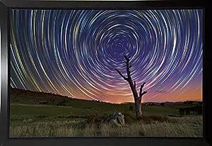 Frame USA Azure 加框印刷品 27.69cmx41.91cm Lincoln Harrison-LINHAR132606 Budget Saver 10.75x16.5 132606-30-7FUSA