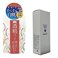 (2017年日本製新商品)(pdcとSHINTECH) ワフードメイド 酒粕パック 170g と パーフェクト雪肌フェイスパック 130g 日本製(お買2個セット)