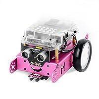 Makeblock mBot可编程教育机器人 高科技儿童智能玩具 diy智能益智机器人套件粉色蓝牙版(亚马逊自营,由供应商配送)