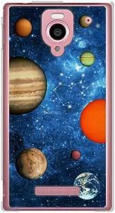 CaseMarket SoftBank AQUOS PHONE Xx (302SH) 聚碳酸酯 透明硬壳 [ 太空星星星座 蓝色 星座收藏 - 射手座 ]
