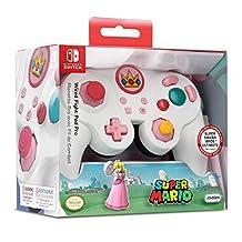 Nintendo 任天堂 有線游戲手柄 大亂斗Pad?Pro?(NS?-?Peach?-?EU)(任天堂手柄)