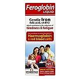 (跨境自营)(包税) 英国Vitabiotics Feroglobin Liquid婴幼儿孕妇产妇补铁补锌维生素营养液200ml