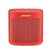 Bose SoundLink Color 蓝牙扬声器 II-红色