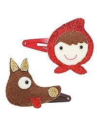 lily&momo 发夹(2个套装) リトルレッドガール