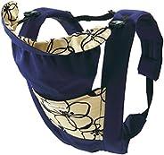 日本 Eightex 兒童背帶 (適用年齡:0-3歲) 藍色花紋
