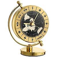 Seiko 桌子和桌子世界時鐘 實心黃銅保護殼