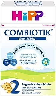 HiPP 喜宝 Bio ComBiotik 后续营养奶粉2段 不含淀粉 适合6月龄以上的宝宝  4件装(4 x 600 g)