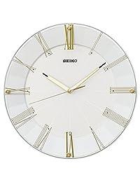 SEIKO CLOCK (セイコークロック) 掛け時計 電波 アナログ 白パール KX214H