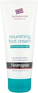 Neutrogena 挪威*滋养足霜干燥/*脚,100毫升