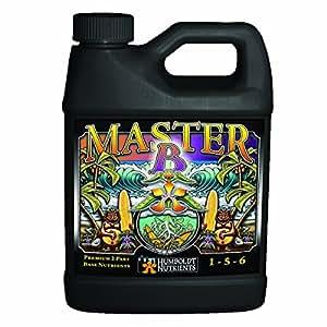 Humboldt Nutrients NB405 Master B 诱饵套装 1 夸脱 Master B Quart