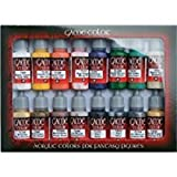 Game Color Introduction Bottle Set Intro (16) Acrylicos Vallejo 72299