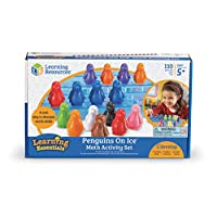 Learning Resources Penguins On Ice Math Activity Set