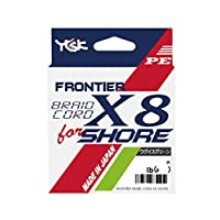 YGK PE线 Frontier Braid cover X8 Shower 150米