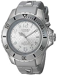 KYBOESC.48-001.15 analog 硅膠 銀色 SC.48-001.15 casual-watches