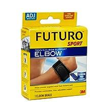 售价下单7折 到手价169.4元 3M FUTURO 护多乐 休闲运动系列 护肘肘部束带 可调式高强度固定型