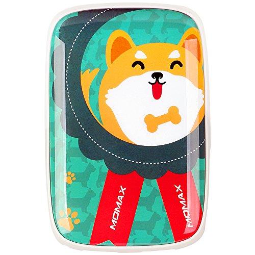 MOMAX Momis 9000 mAh大容量充電宝急速充電モバイル電源3.4 A急速充電デュアルUSB出力Apple iPhone X / X S / X R /の新年の贈り物XSマックス/サムスン/ファーウェイ/ミレーと他の携帯ゲーム機充電(秋田犬)