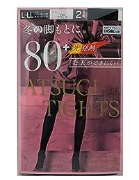 [厚木] 裤袜 Atsugi Tights (厚木连裤袜) 80丹尼尔 〈2双装〉 女士 FP98812P