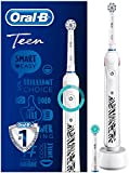 Oral-B 歐樂B 青少年電動牙刷,適用于12歲以上的青少年 白色