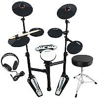 Carlsbro CSD120 超紧凑型电子鼓套装带耳机、凳子和鼓槌