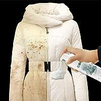 3支装经济装 羽绒服清洗剂 免水洗 家用喷雾干洗剂 清洁剂 衣服衣物去油渍污渍神器 泡沫款 (3Bottle)