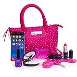 PixieCrush 波尔卡钱包 标准 粉色/白色波尔卡圆点