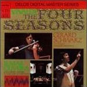 进口CD:韦瓦尔第小提琴协奏曲/四季/洛杉矶室内管弦乐团D/CD3007(CD)(DE3007A)