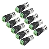 uxcell BNC 类型 RF 同轴连接器耦合器适配器 适用于 * 摄像机