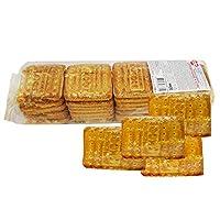 甜蜜农庄 俄罗斯进口 牛奶燕麦饼干 355g/袋*4 休闲零食