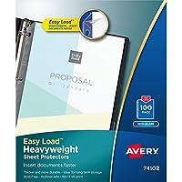 Avery Top Loading Non-Glare Poly Sheet Protectors