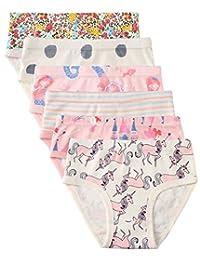 6 条装女童内裤,女婴内裤,三角裤,幼童女孩衬衣