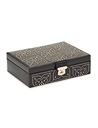WOLF Marrakesh 扁平首饰盒 黑色 均码 308302