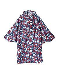 小川(Ogawa)骑行 雨披 均码(背面衣长100厘米) korko 拨水 防水 06 ブルーバード フリーサイズ -
