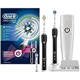 Braun Oral-B博朗欧乐B Pro 4900电动充电牙刷 黑色 两支手柄