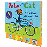 (进口原版) 皮特猫 Pete the Cat Take-Along Storybook Set: 5-Book 8x8 Set