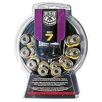 BSB Swiss Bearings ABEC-7(16 件装)内联和四轮滑轮