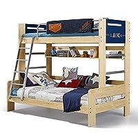 多喜爱 AOK 实木上下高低床组合双层松木床子母床儿童床 (1350mm*2000mm,挂梯款不含梯柜)