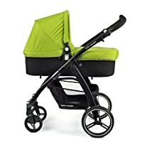 CHIC 4婴儿 – 组合婴儿车 VOLARE , 包括运动车论文和婴儿浴缸 , 系列2017 绿色
