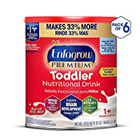 Enfagrow 美赞臣安儿宝 PREMIUM Next Step 幼儿配方奶粉,天然牛奶味,32盎司/907克(6件装),含Omega 3