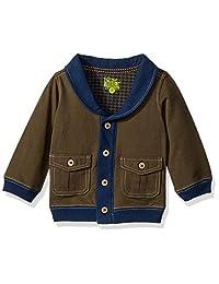 Kapital K 男婴青果领开衫(婴儿) - 森林绿