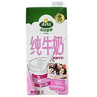 Arla 爱氏晨曦 德国 进口牛奶 脱脂纯牛奶 1L*12(德国进口)