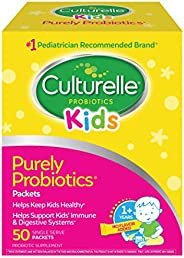 Culturelle 康萃樂 兒童每日益生元膳食補充劑| 有益于機體系統| 自然發揮作用 | 50包