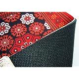个性定制波斯风格桌垫Desk top mat New arrivals (YDT-574030Red)