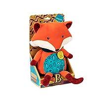 B.Toys 比乐 会说话的狐狸 发声玩具 啃咬可爱毛绒玩具 安抚抱枕哄睡 生日礼物 儿童早教 3岁+ BX1513Z