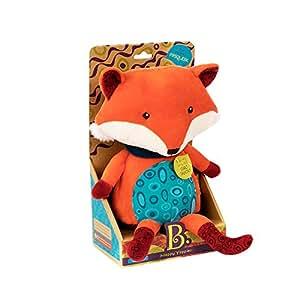 B.toys 比乐 会说话的小狐狸 学人说话 毛绒玩具 10个月+