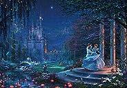 Tenyo 拼圖 迪士尼 托馬斯·金凱德 Cinderella Dancing in the Starlight 1000片 (51x73.5cm)