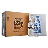 习酒 52° 123干 500ml*2 白酒简约礼盒装*3 整箱装(原包装未拆封,送3只礼品袋)