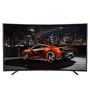 TCL彩电L55A980CUD 55英寸 真4K曲面高色域 安卓智能液晶电视(黑色)